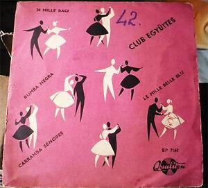 Club-Ensemble-ADRIANO-CELENTANO-MINA-hungarian-covers-latin-45-EP-7-034-1961-LISTEN
