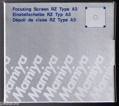 Mamiya Rz Pro Ii / Pro Iid / Rz Focusing Screen ( 2 Types To Choose From )