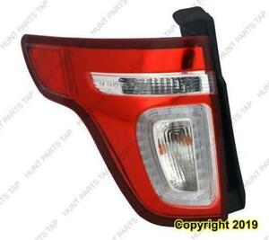 Tail Light Driver Side High Quality Ford Explorer 2011-2015