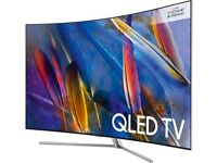 "New SAMSUNG QE55Q8CAMT 55"" Curved Smart 4K Ultra HD HDR QLED TV BARGAIN! RRP:£1799"