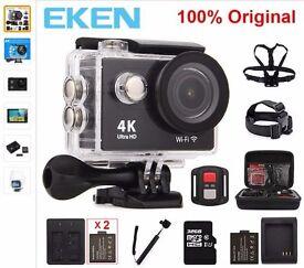 """Original EKEN H9 / H9R Action camera Ultra HD 4K / 25fps WiFi 2.0"""" Helmet Cam waterproof Sport cam"""
