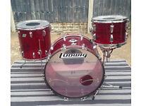 Ludwig Vistalite Drum Kit