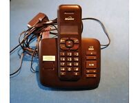 New Binatone cordless answer machine phone / telephone
