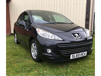 PEUGEOT 207 1.4 MILLESIM FULL YEARS MOT JUST BEEN SERVICED