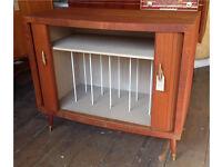 Record Cabinet- Retro/ Vintage