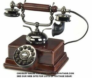 New in box Crowley antique looking phone