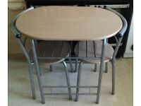 Small dining / kitchenette table & 2 chairs
