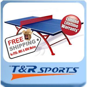 NEW! PRO SIZE OUTDOOR TABLE TENNIS/PING PONG TABLE
