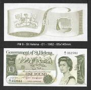 St Helena Banknotes
