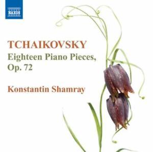 18 Klavierstücke op.72 von Konstantin Shamray (2012)