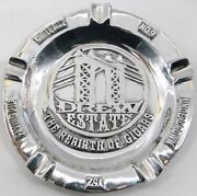 Pewter Cigar Ashtray