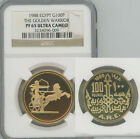 NGC Certified PR 65 Graded World Coins