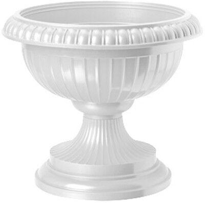 Pflanzkübel Blumenspindel Pflanzschale Euro ∅41cm Weiß, Terracotta, Grün, Braun