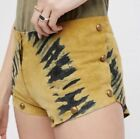 Leather Summer Shorts for Women