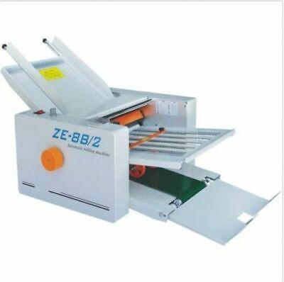 310700 Mm Paper 2 Folding Plates Auto Folding Machine Ze-8b2 110220v Ax