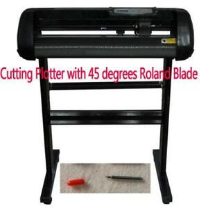 24inch 500g Vinyl Cutting Plotter with 45° Roland Blade Package