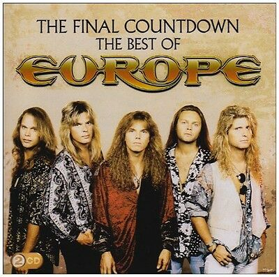 Europe   Final Countdown  The Best Of Europe  New Cd  Portugal   Import