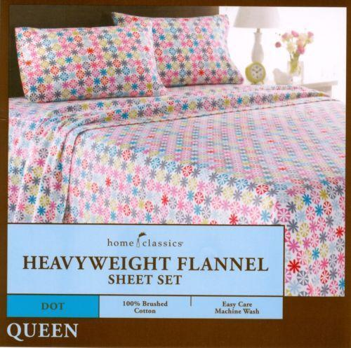 Queen Flannel Fitted Sheet Ebay