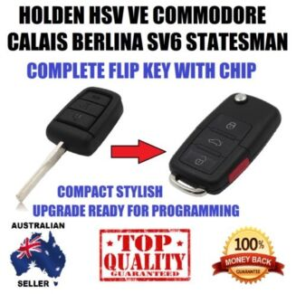 Holden HSV VE Commodore SV6 Statesman Berlina Remote Flip Key