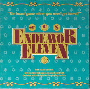Endeavour Eleven board game London Ontario image 1