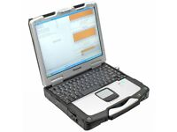 PANASONIC TOUGHBOOK CF-30 13.3″ RUGGED LAPTOP GOOD FOR DIAGNOSTIC 128 SSD 3GB