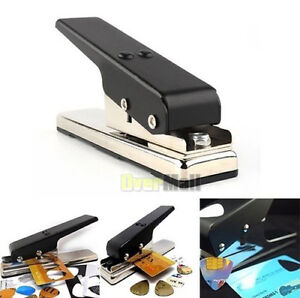 New Professional Guitar Plectrum Punch Picks Maker Card Cutter DIY Own Black