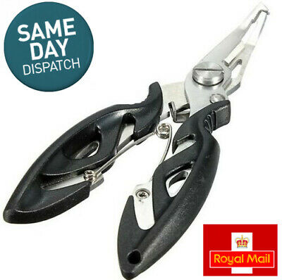 Angling Fishing Pliers Multi-tool Scissors Hook Removal Disgorger Line Cutter UK