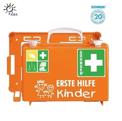 SÖHNGEN Kindergarten KIta  Erste Hilfe Koffer DIN 13157 - 20 Jahre haltbar !