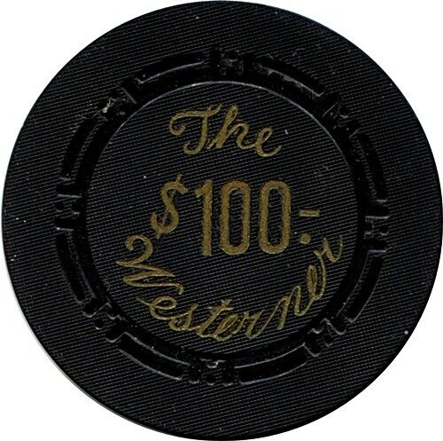 Westerner, Las Vegas $100 Casino Chip MINT R5 Very Scarce