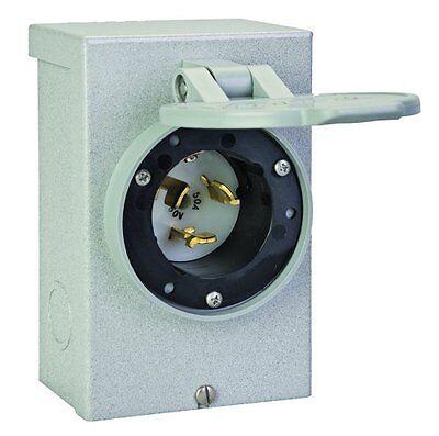 Reliance Controls Corporation Pb50 50 Amp Nema 3r Power Inlet Box 50-amp For Ge