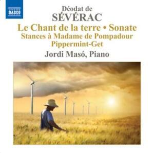 Severac-Piano-Music-Vol-3-Maso-Le-chant-de-la-terre-Piano-Sonata-CD-NEU