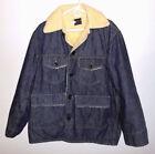 Sherpa Denim Coats & Jackets for Men Blue
