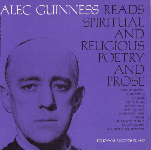 Alec Guinness - Christian Poetry And Prose: Selected [new Cd]