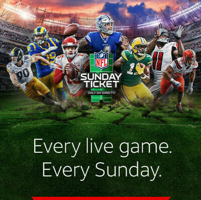 NFL Sunday Ticket MAX FULL 2020-2021 Season - Fast Delivery + Warranty!