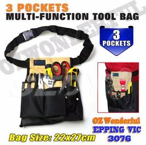 Tool Bag 3 Pockets Tool Construction Belt Bags EPP1164 Toolbag Epping Whittlesea Area Preview