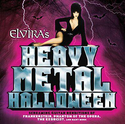 Elvira s Heavy Metal Halloween [CD] ()