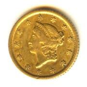 1852 Gold Dollar