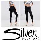 Women's Skinny Silver Jeans