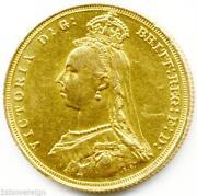 Victoria 1887 Gold Coin