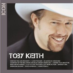 Toby-Keith-Icon-Best-Of-CD-NEW-amp-SEALED-2017