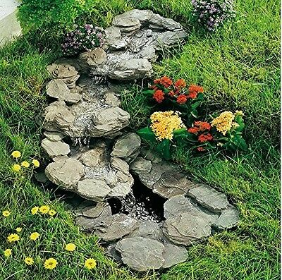 Bachlauf Komplett Set Tauchpumpe Teichpumpe Teich Pumpe Wasserfallpumpe NEU **