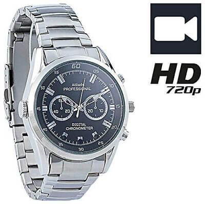 OctaCam Spywatch VA-720 HD Kamera Uhr 720p-HD-Video 8GB Spycam Armbanduhr Chrono (720p Hd Spy Kamera)