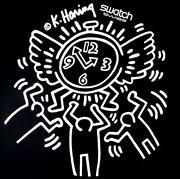 Keith Haring Swatch