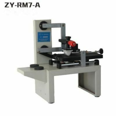 Zy-rm7-a Desktop Manual Pad Printerhandle Pad Printing Machineink Printer O