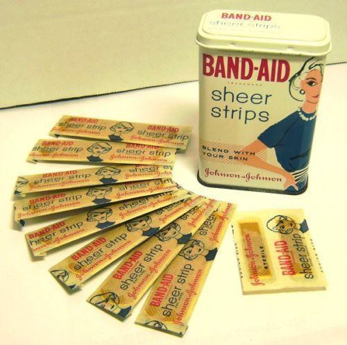 band aid tin ebay