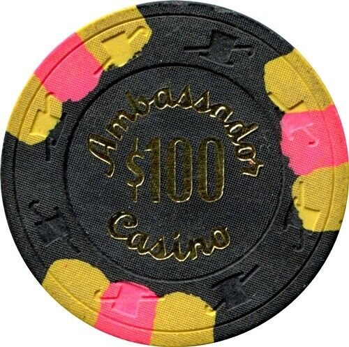 Ambassador Casino, Las Vegas $100 Casino Chip
