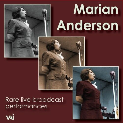 Marian Anderson - Rare Live Broadcast Performances [New CD]
