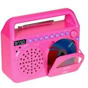 how to set an alarm on a audiosonic portable radio