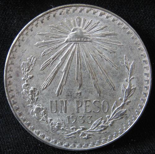 1933 Un Peso Coins World Ebay