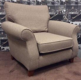 Next Armchair ASHFORD Designer Range Mid Natural New Ex Display Chair RRP £499